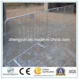 A cerca provisória usada para a barreira/montou a barreira