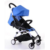 Ce Aprovado China Alloy Alloy Frame Foldable Lightweight Baby Buggy com PU Wheeles