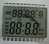 Tn LCD с померанцовой предпосылкой