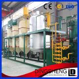 높은 산출 기름 비율 조잡한 콩기름 정련소 장비