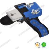 Bolso Running do braço dos esportes do telefone azul por atacado do neopreno do presente da promoção