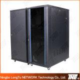 Netz-Schrank mit Temperament-Glastür-Vorderseite mit Lichtbogen-Ineinander greifen-Rahmen