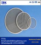 Cilindro tejido del filtro de acoplamiento de alambre del acero inoxidable de la fábrica de Anping