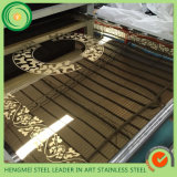 201 304 Edelstahl Sheet Mirror Etching für Home Decoration Furniture Accessories