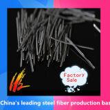 El derretimiento extrajo la fibra del acero inoxidable usada para el suelo refractario