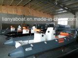 Yacht Small Boat Manufacturers 5.2m Cina Rib Boats di Liya Power Boat