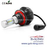 조정가능한 Fanless 4000lm H13 Philips 7g 차 LED 헤드라이트