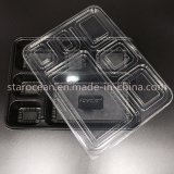 Claro plástico PVC / animal producto Embalaje Box Lunch