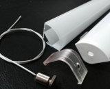 Canaleta de alumínio vazia do perfil com o difusor para o teto de Awardrobe