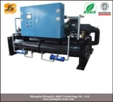 Refrigerador de refrigeração do parafuso água Semi-Hermetic com controlador do PLC