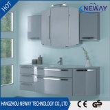 Großhandels-Belüftung-Möbel-Badezimmer-Schrank mit Glasbassin