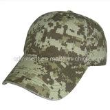 Lavado Verde Camo Algodão Twill Sport Baseball Cap (TMB080)