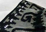 Moda POM POM acrílico Jacquard Knitting punto Hat