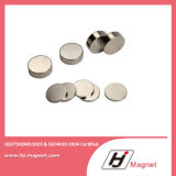 N42 de Sterke Magneten van het Neodymium van de Schijf/van de Cilinder van de Zeldzame aarde Permanente Gesinterde