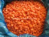Cenoura nova da colheita IQF