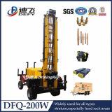 Máquina Drilling boa montada reboque da profundidade de Dfq-200W 200m