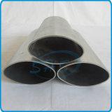 Pipes ovales elliptiques d'acier inoxydable pour le traitement de porte