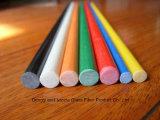 Perfomance élevé Fiberglass/FRP/GRP Rod, barre de Fiberglass/FRP/GRP