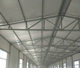 Einfaches-Installation Steel Structure Prefabricated Building House auf Working