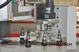 Ranurador de trabajo de madera del CNC de la máquina para la cabina