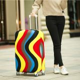 Corsa sulla calotta di protezione dei bagagli della strada