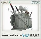 trasformatore di potere di 300mva 220kv 3phase 3winding con sul commutatore di colpetto del caricamento