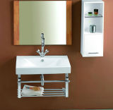 Cupc (SN1538-100)のOEM Bathroom Cabinet Vanity Ceramci Wash Basin