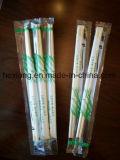L'abitudine ha stampato le bacchette all'ingrosso del bambù delle posate spostate plastica