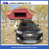 Extérieurs tous terrains campants de climatiseur sautent vers le haut la tente de véhicule de rv