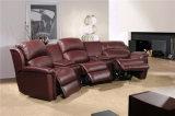 余暇のイタリアの革ソファーの家具(536A)