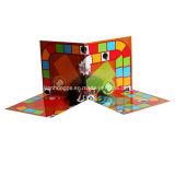 아이들 게임 카드 놓인 포장 상자 인쇄