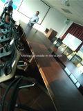 Tabella durevole della sala del consiglio di Seaters di rettangolo 14 con le presidenze (FOH-P3614)