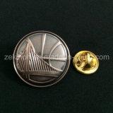 Distintivo su ordinazione del metallo 3D con la placcatura antica