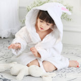 Peignoir animal de bébé de modèle de coton
