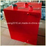 Contenitore rivestito del piatto d'acciaio di Eamel del serbatoio di combustibile della polvere rossa