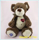 사랑해요 주문을 받아서 만들어진 장난감 곰은 귀여운 장난감 곰을