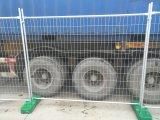 Segunda mano usada 2100m m x Temp modificado para requisitos particulares 2400m m de los paneles de la cerca que cerca los paneles