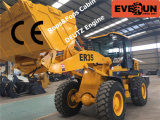 Everun Brand Wheel Loader Er35 con Snow Blade