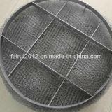 Separador de partículas inoxidable del alambre de acero