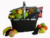 La cesta plegable del refrigerador plegable lleva la cesta