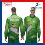 Camisa de pesca Fully Sublimated para promoção com proteção UV