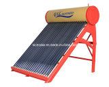 Calefator de água solar do aço da pressão colorida não (200L)
