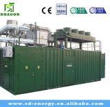Sistema de generador respetuoso del medio ambiente del biogás de 20 kilovatios de las energías renovables populares internacionales