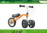 Kaiqi caçoa os artigos diferentes dos triciclos disponíveis