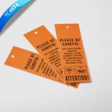 Wholesale Garment Paper Hangtga/Price Tag/Hangtag