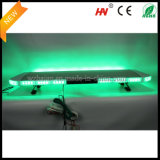 Emergency led verte Warning Lightbar dans Silver Aluminum Dome