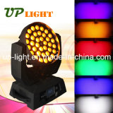 Bühnenbeleuchtung 36 * 18W RGBWA UV 6in1 Wash LED Moving Head