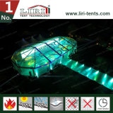 照明装置との屋外のイベントのための透過マルチ側面のテント