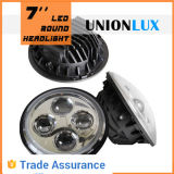 "7 "" 둥근 LED Headlight 12V"