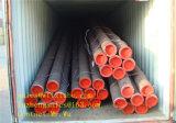 ASTM A106 GR. Tubulação de aço sem emenda de B, linha tubulação de Smls, linha tubulação de Erwblack